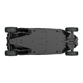 HMWPE Central Skid Plate