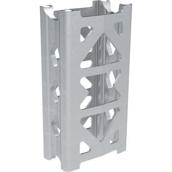 Extension kit for tapered handlebars