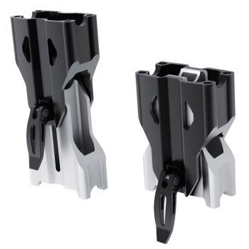 Adjustable riser for straight handlebar