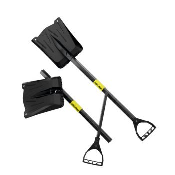 Lynx shovel with saw handle
