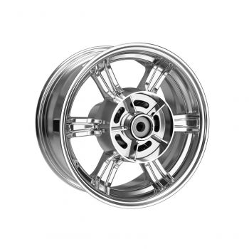 Chrome Rear Wheel