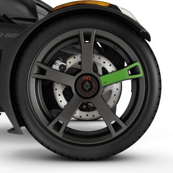 Wheel Decals - Supersonic Green