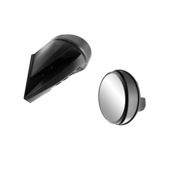 Windshield-mount mirrors
