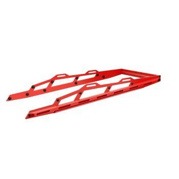 Explorer rear bumper 3900, viper red