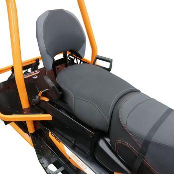 2-up passenger seat